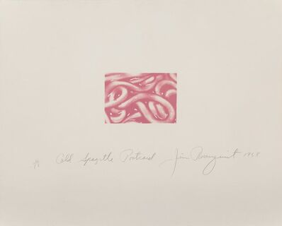 James Rosenquist, 'Cold Spaghetti Postcard', 1968