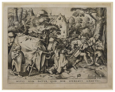 Pieter Bruegel the Elder, 'The Wedding of Mopsus and Nisa', 1570