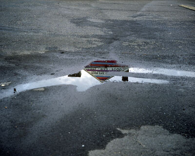 Lisa Kereszi, 'Topless bar reflected in puddle, Doylestown, Pennsylvania', 2010