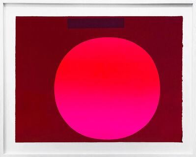 Rupprecht Geiger, 'Metapher Zahl Drei', 1985-89