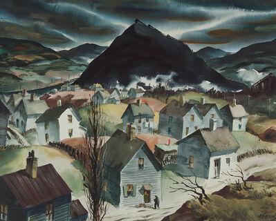 """Henry Gasser, 'Study for """"Return to Slag Valley""""'"""