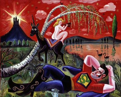 Milan Kunc, 'Mythologische Landschaft', 1980