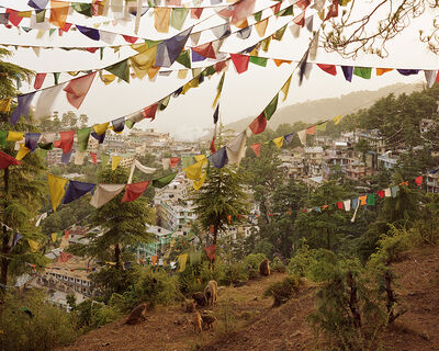 Simon Norfolk, 'Tibetan refugees living in the McLeod Ganj district of Dharamsala', 2003
