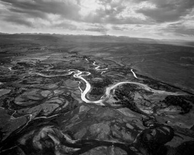 Michael Light, 'Upper Green River Looking Southeast, Near Pinedale, WY', 2007
