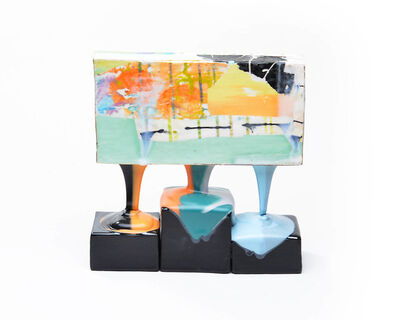 Lauren Mabry, 'Molten Veil Painting (Light)', 2019