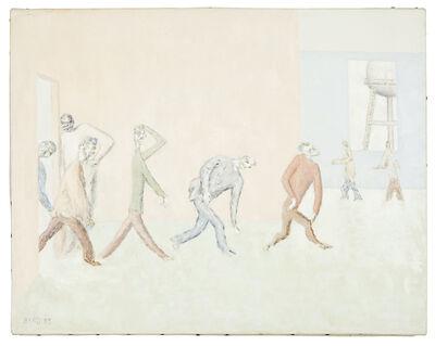 David Byrd, 'Patients into Dining Room', 1989