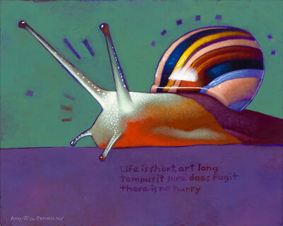 Ray-Mel Cornelius, 'Snail with Haiku', 2019