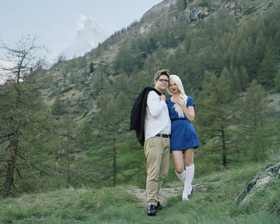 Romain Mader, 'Demande en mariage - series Ekaterina', 2012