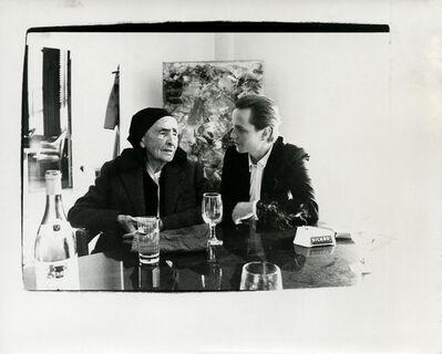 Andy Warhol, 'Andy Warhol, Photograph of Georgia O'Keeffe with Juan Usle, 1982', 1982