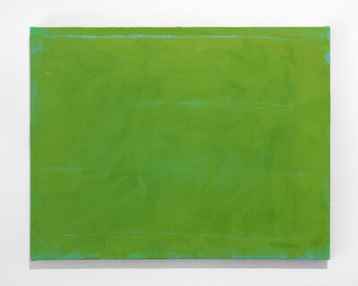Sérgio Sister, 'Verde luz sobre azul (Light green over blue)', 2015