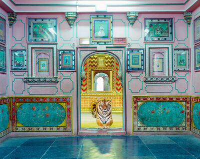 Karen Knorr, 'Interloper, Sheesh Mahal, Udaipur city Palace', 2019