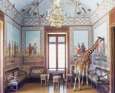 Karen Knorr, ' Love at First Sight, Palazzina Cinese, Palermo ', 2017