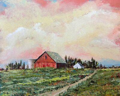 James Bohling, 'Deshler Barn', 2018