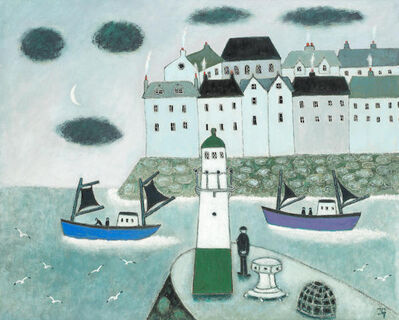 Joan Gillchrest, 'St. Ives Mackeral Boats', c. 1970