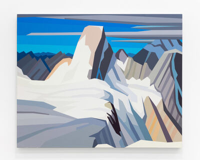 Douglas Coupland, 'Harris North From Mount Mumm, Mount Robson Park', 2020