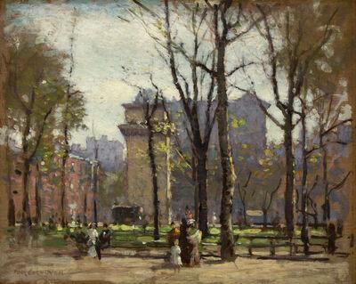 Paul Cornoyer, 'Washington Square Park', ca. 1900