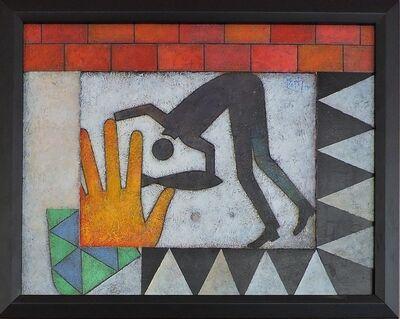 Orlando Boffill, 'Payaso Muriendo De Su Propia Mano', 2013