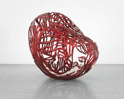 Ghada Amer, 'The Heart', 2012