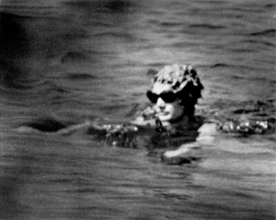 Ron Galella, 'Jacqueline Kennedy Onassis swimming at the Island of Skorpios, Greece', 1970