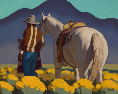 "Logan Maxwell Hagege, '""Curved Mountain""'"
