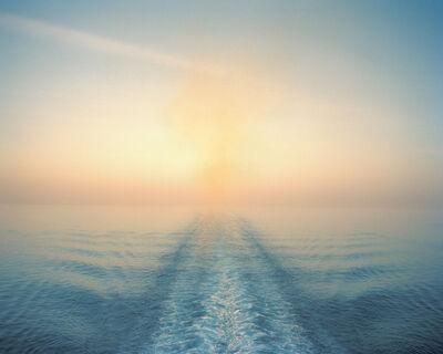 """Anna Beeke, '26 01'24.1""""N 78 41'12.4""""W (Smoke on the Water)', 2014"""