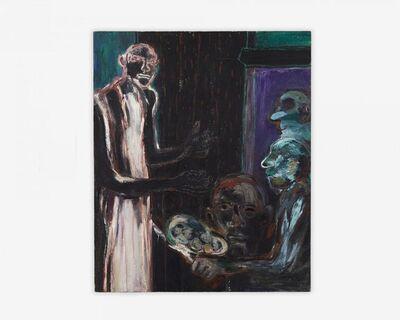Gilberto Navarro, 'GAN359 La mesa negra', 1992