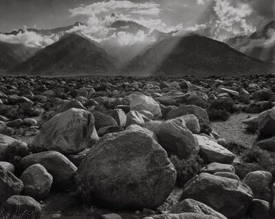 Ansel Adams, 'Mount WIlliamson, East Side of the Sierra, California', 1944