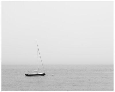 Nancy deFlon, 'Lone Boat in Fog', 2020
