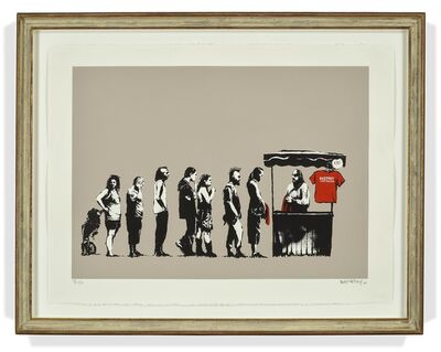 Banksy, 'Festival/Destroy Capitalism', 2006