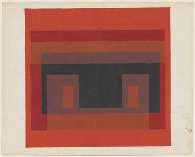 Josef Albers, 'Color study (Variant/Adobe)', 1948