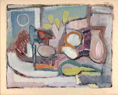 Geer van Velde, 'Nature Morte / Tete de Femme', ca. 1933