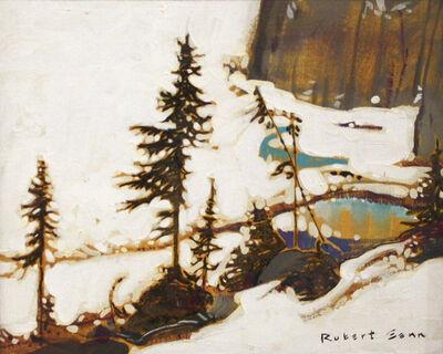 Robert Genn, 'High Glacier Lake ', 1973