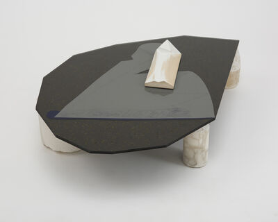 Christopher K. Ho, 'Teardrop; Shard; Black Square; Open Book', 2013