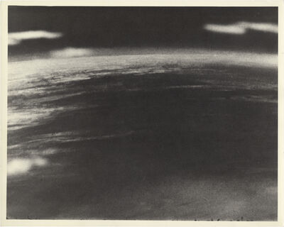 NASA, 'Photo of Earth from the Thermosphere Taken by a Camera Attached to a V2 Rocket, (detail of 10117)', 1946