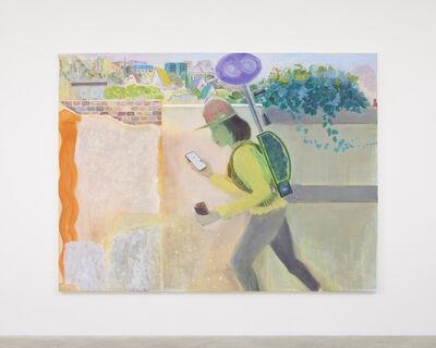 Daisuke Fukunaga, '街を這う男', 2020