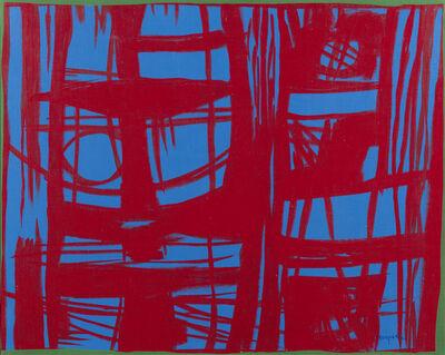 Antonio Corpora, 'Nell'azzurro una trama', 1971