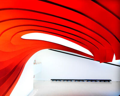 Massimo Listri, 'Auditorium Oscar Niemeyer II, Sao Paulo, Brazil', 2012