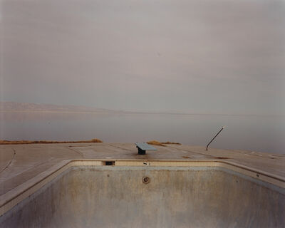 Richard Misrach, 'Diving Board, Salton Sea', 1983