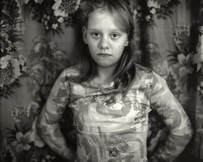 "Sally Mann, 'Untitled from the ""At Twelve"" Series, Cindy in front of Curtain', 1983-1985"
