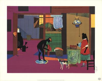 Romare Bearden, 'Mecklenburg Morning: Sunrise for China lamp', 1993