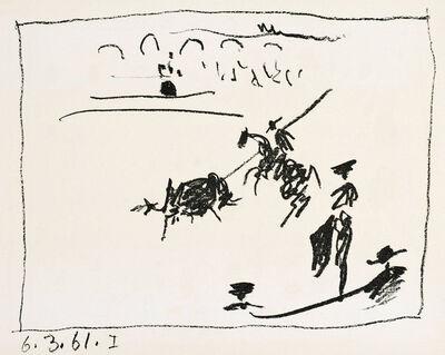 Pablo Picasso, 'A los toros : La pique', 1961