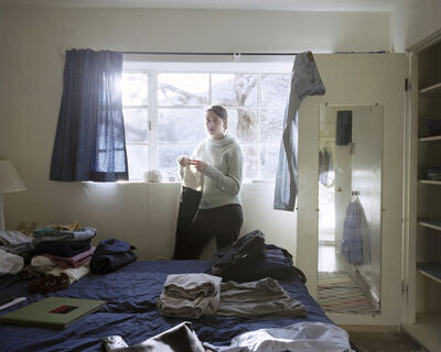 Jessica Todd Harper, 'Becky Knitting', 2002
