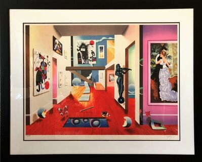 Ferjo, 'Homage to the masters - Limited Edition Lithograph by Ferjo', 2000