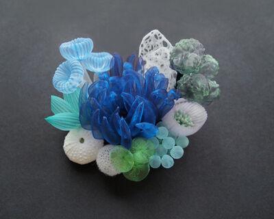 Mariko Kusumoto, 'Seascape brooch', 2020