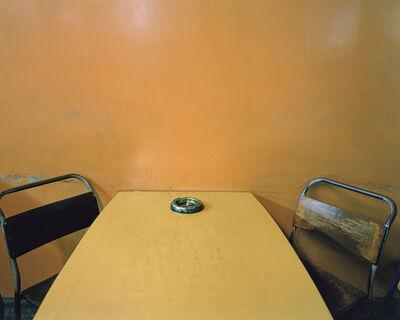 Paul Graham, 'Ashtray on Table, Morley's Café, Markham Moor, Nottinghamshire, February', 1981