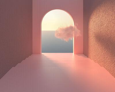Minjin-Mijoo, 'Pink Arch Cloud', 2021
