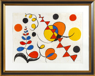 Alexander Calder, 'Untitled from La Memoire Elementaire', 1975-1976