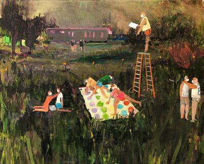 Grace Metzler, 'Covid Twister', 2020