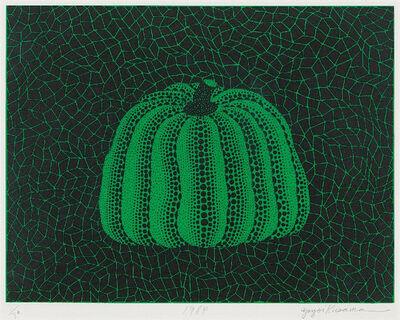 Yayoi Kusama, 'Untitled (Pumpkin Green)', 1984