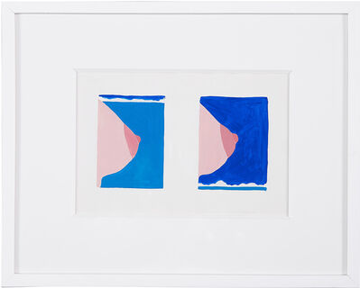 Tom Wesselmann, 'Double Study for Seascape #16', 1966